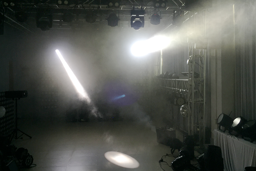 テレビ撮影照明08