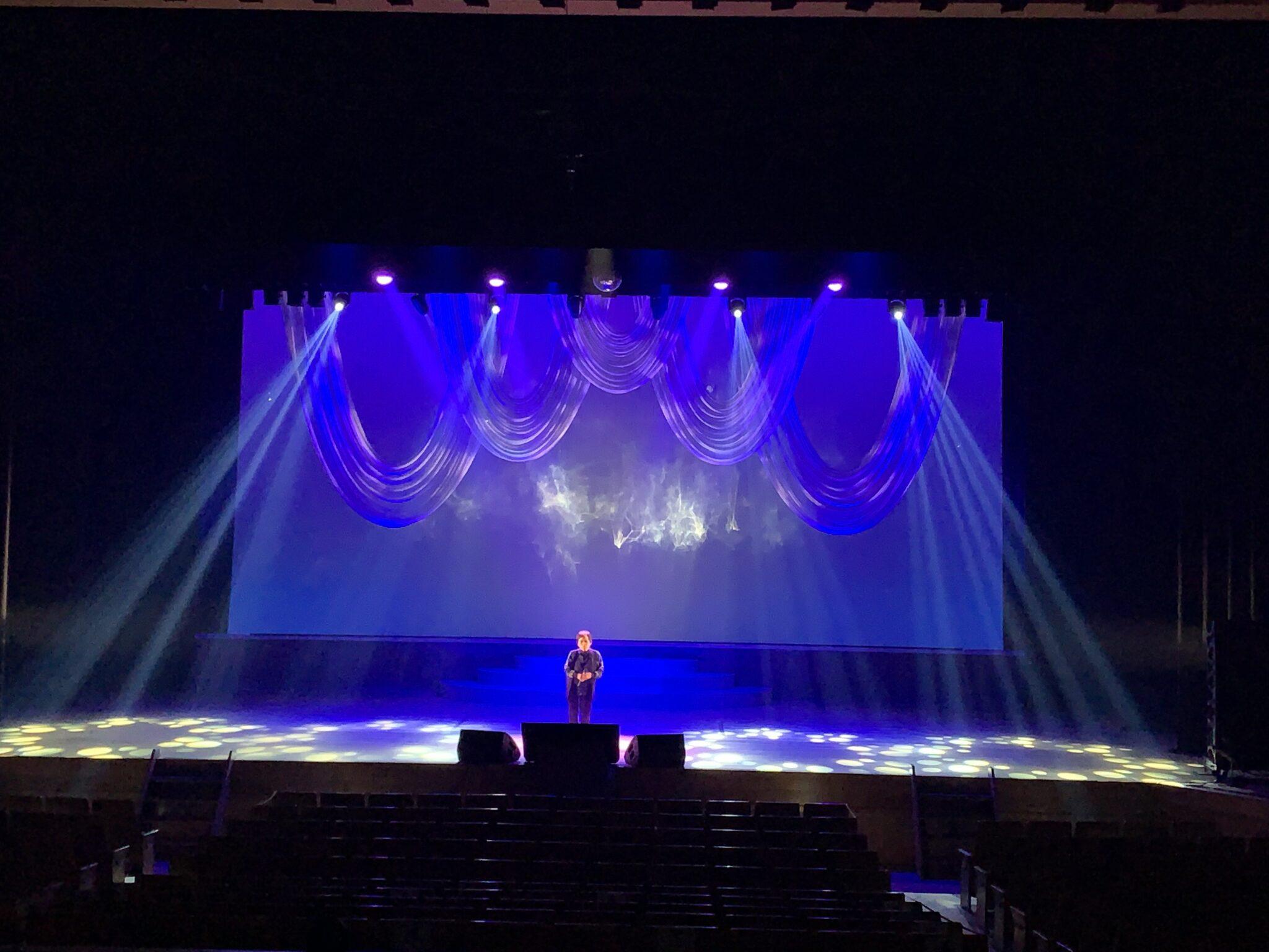 舞台照明-下松カラオケ