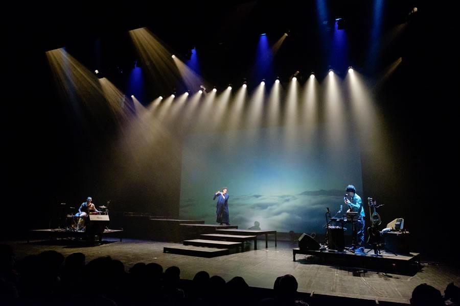 舞台照明-篠笛wide