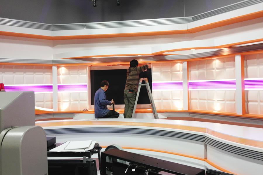 テレビ撮影照明-NHK